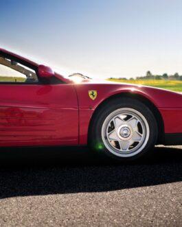 Plakat Ferrari 512 Testarossa