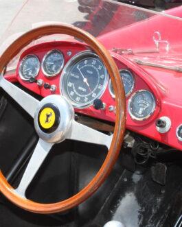 Plakat Ferrari deska rozdzielcza