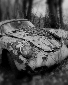 Plakat wraka Porsche 356