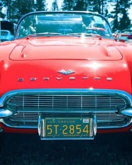 Plakat Chevrolet Corvette C1