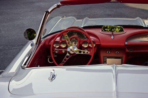 Chevrolet Corvette chevrolet Corvette C1 wnętrze