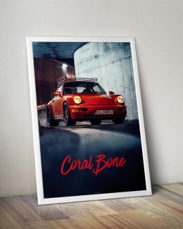 Porsche 911 (964) Coral Red