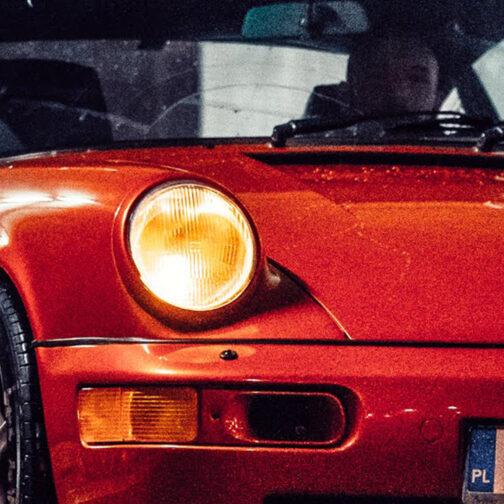 Porsche 911 (964) Coral Red 2
