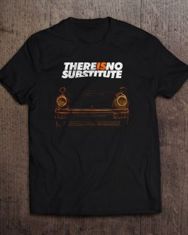 T-shirt There is no substitute – Porsche 964