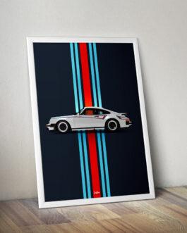 Plakat Porsche 911 (930) M42