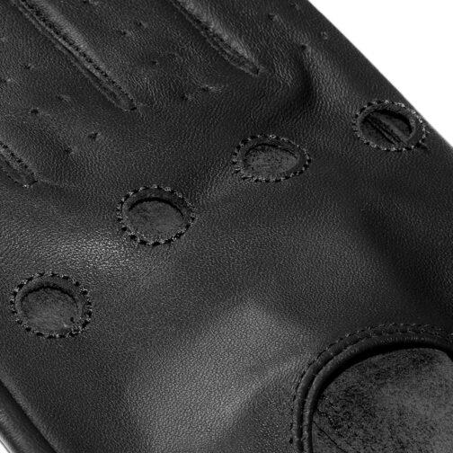 Rękawiczki samochodowe James Hawk czarne 2