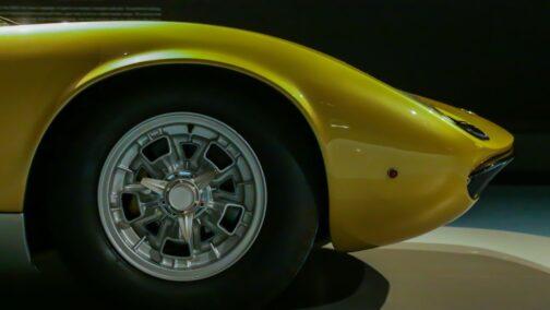 Lamborghini Miura błotnik