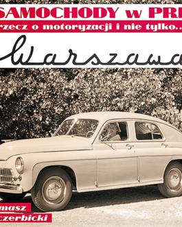 Warszawa. Samochody w PRL